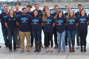 swim and dive students
