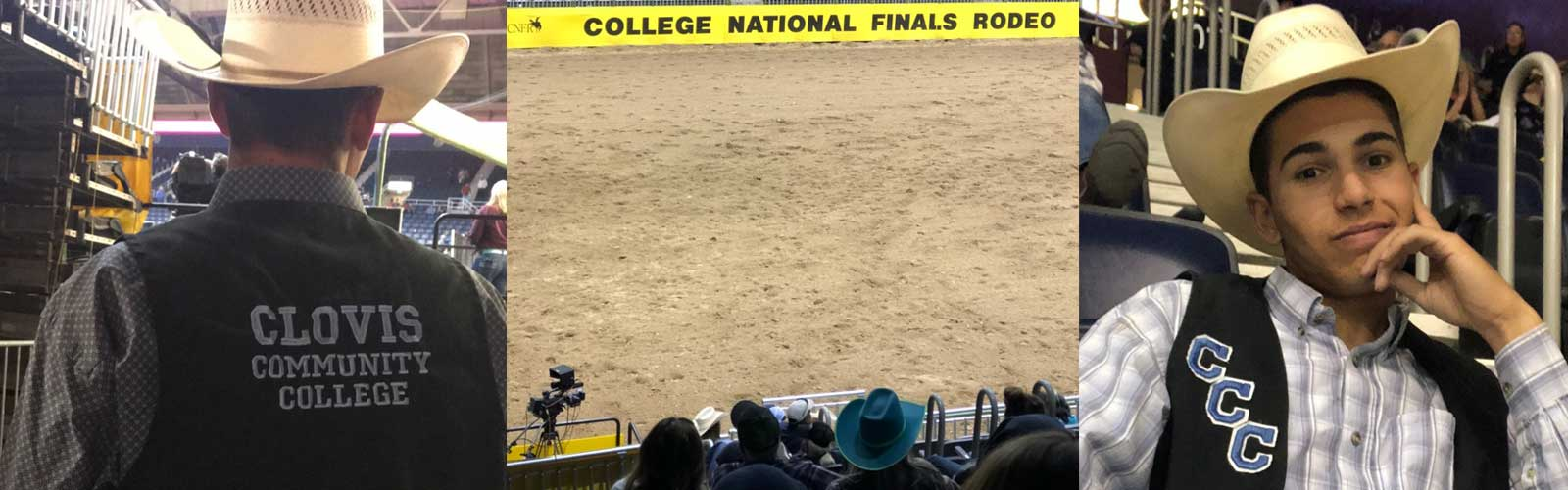 Wyatt Adams at National Finals Rodeo