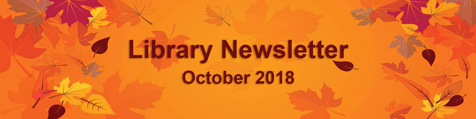 2108 October Newsletter leaves banner